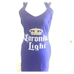 Blue and yellow Corona Dress